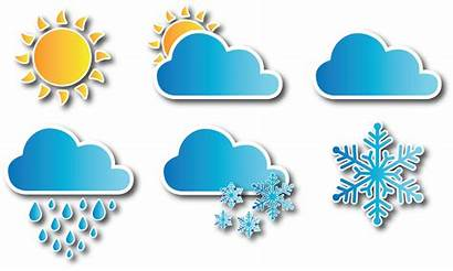 Weather Clipart Icons Icon Vector Clip Clipground