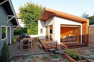 amenagement garage habitation moderne accueil design et With amenagement garage en chambre