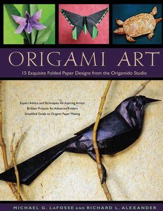origami art  exquisite folded paper designs   origamido studio  michael  lafosse