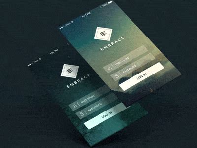 beautiful examples  login forms  websites  apps