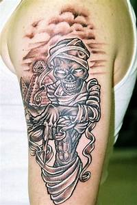 Image Gallery king tut mummy tattoo