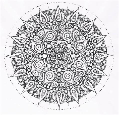 mandala adult coloring pages pinterest