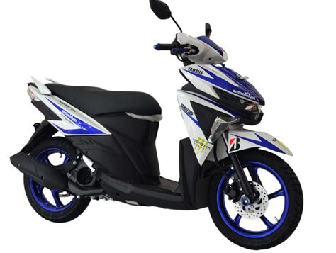 Modifikasi Mio Soul Blue by Modifikasi Soul Gt 125