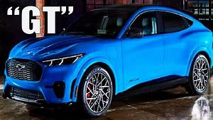 """2021 Ford Mach E """"GT"""" Reveal (Official Design, 0-60 Time, Technology, Price) - YouTube"""