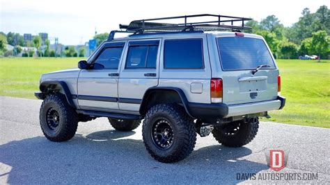 jeep xj lifted restored built stage 3 davis autosports used jeep