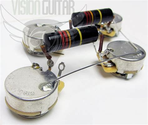 premium 1956 60 pre wired les paul wiring harness vision guitar