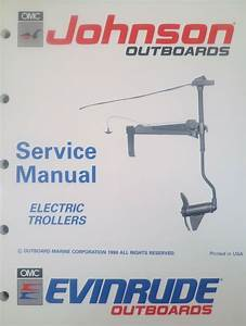 1991 Johnson Evinrude Electric Outboard Trolling Motor