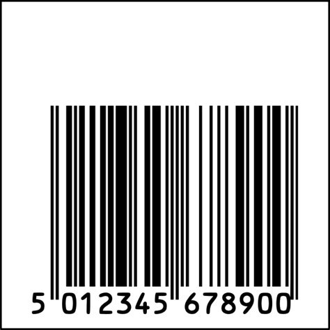Planned obsolescence barcode clip art | Free SVG