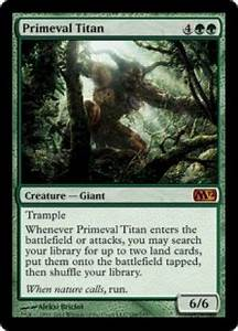 Primeval Titan - Magic 2012 (M12) Singles - Magic The ...