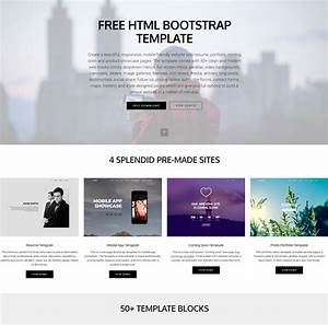 30 free html5 bootstrap templates of 2018 that will wow you With bootstrap responsive templates free download