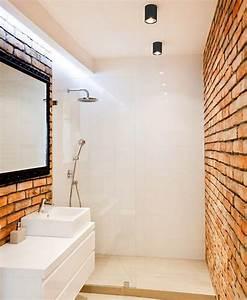Paneele Für Bad : wandpaneele in ziegeloptik und wei e keramik fliesen bad beige badezimmer bad und bad ~ Frokenaadalensverden.com Haus und Dekorationen
