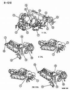 1994 Dodge Dakota Wiring - Engine