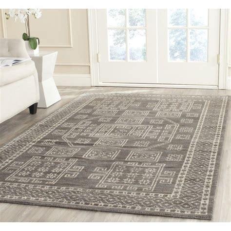 safavieh hand knotted kenya grey wool rug