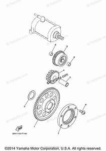 Yamaha Atv 2009 Oem Parts Diagram For Starter Clutch