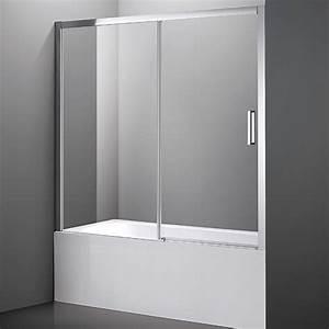 Pare Baignoire 60 Cm : pare baignoire coulissant int grale pour baignoire encastr e ~ Dailycaller-alerts.com Idées de Décoration