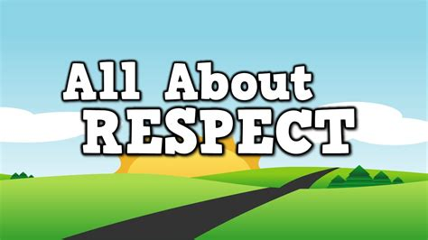 All About Respect! (song For Kids About Showing Respect