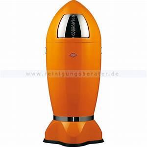 Wesco Mülleimer 50 L : wesco spaceboy xl orange 40 l 138631 25 ~ Frokenaadalensverden.com Haus und Dekorationen