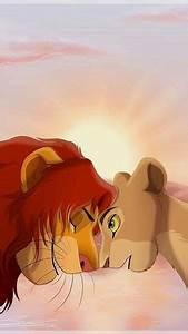 Simba and Nala iPhone wallpaper   Disney iPhone WallPaper ...