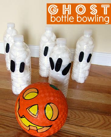 20 ideas amp printables for class my 826   ghost bottle bowling