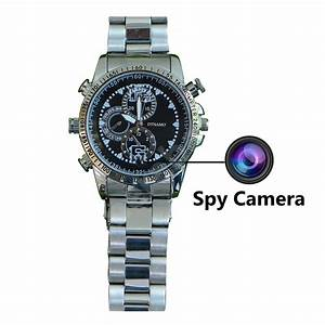 Spy cam watch with video recording: 16GB HD Hidden Camera