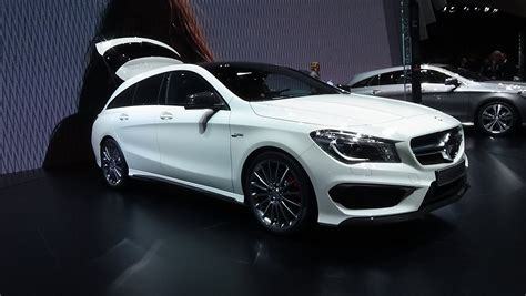 2016, Mercedes Benz Cla 45 Amg 4matic Shooting Brake