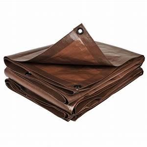 Bache De Protection Bricomarché : b che de protection marron 2x8 m couverture poly thyl ne ~ Dailycaller-alerts.com Idées de Décoration