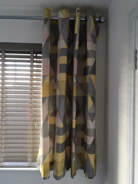 Sold Out Scion Ochre Axis Eyelet  Ee  Curtains Ee   In