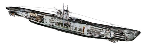 German U Boat Layout by Http Www Images Search Q Engine Cutaway
