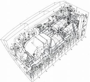 Hms Dreadnought  1906  Port Engine Room