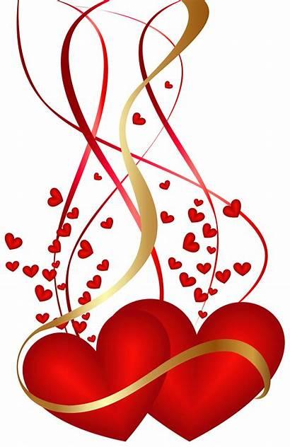 Valentine Clip Clipart Hearts Decoration Transparent Yopriceville