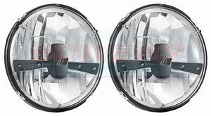 Led Autolamps Hl175 Rhd 7 U0026quot  Inch Classic Car Mini Land