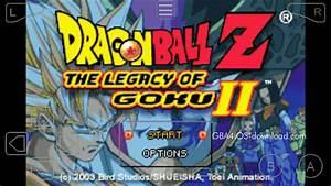 Gba4ios Dragon Ball Z U2019 The Legacy Of Goku 2 Gba Rom