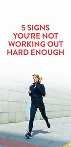 How To Tell If You're Working Out Hard Enough, And How To ...