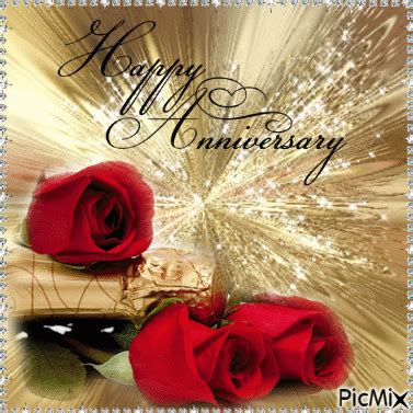 happy anniversary rose gif pictures   images