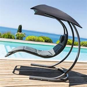 Fauteuil Suspendu Jardin : fauteuil suspendu brasilia gris achat vente balancelle ~ Dode.kayakingforconservation.com Idées de Décoration