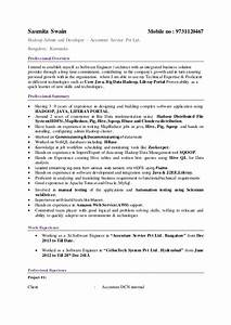 big data hadoop resume download com 7 sample for fresher With big data hadoop fresher resume