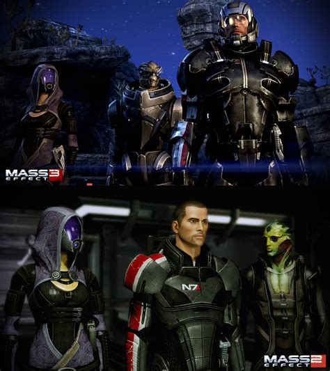 mass effect   mass effect  screenshot comparison