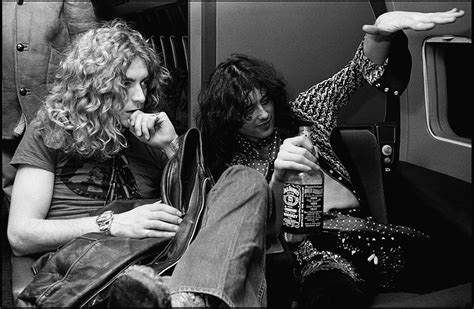 Jimmy Page And Robert Plant, 1975