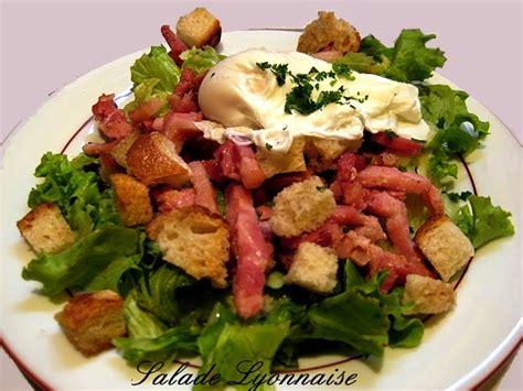 recette cuisine lyonnaise recettes de salades cuisine des gones cuisine lyonnaise
