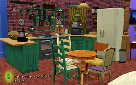 mod  sims friends project  apartments
