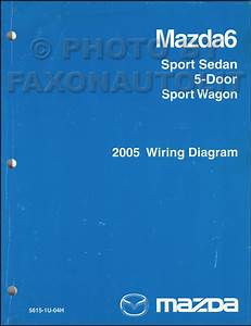 2009 Mazda 6 Wiring Diagram Original