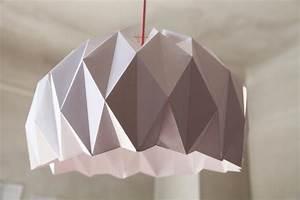 Abat Jour Origami : diy une jolie suspension origami lemonrock ~ Teatrodelosmanantiales.com Idées de Décoration