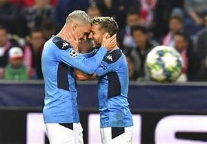 Mertens moves ahead of Maradona in Napoli win over Salzburg