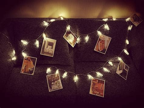 How To Hang Up Led Lights In Your Room by Led Photo Clip Light Strings Are A Alternative To