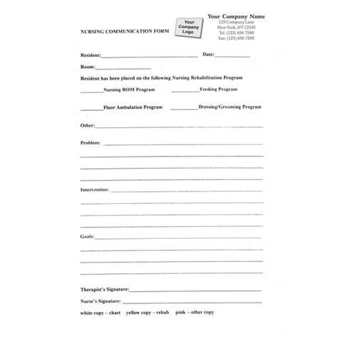 Nursing Home Forms Standard Forms