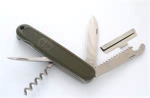 German Army Knife Victorinox