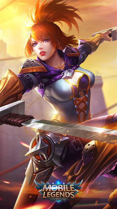 43 New Awesome Mobile Legends Wallpapers 2018  Mobile Legends