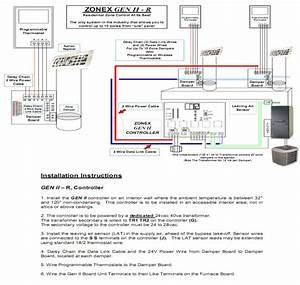 Zone Damper Wiring
