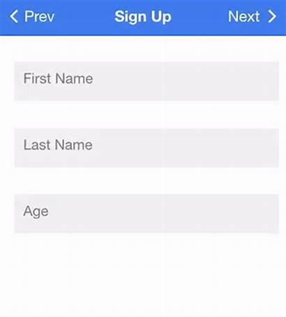 Form Ionic Validation Application Forms Templates Angular