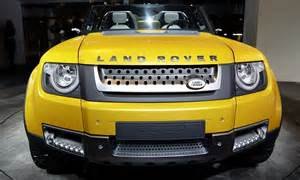 Land Rovers To Be Built In India, Boss Of Parent Company